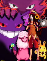Cross-over: Aradia's Team