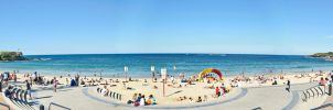 Coogee Beach Panorama 1 by tawunap159