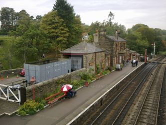 Goathland Station Study 1 by MajorMagna