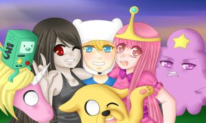 adventure time by Ika-Hime