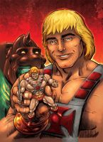 CerealGeek -  He-Man and... He-Man by oICEMANo
