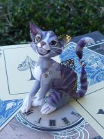 Cheshire Cat - Steampunk (9) by MysticReflections