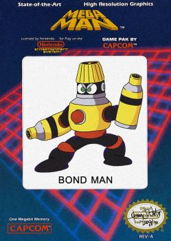 Bond Man Powered Down by Puukster