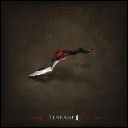 Weapon set concept Lineage II. Dagger by llaiii