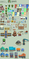 TILESETS DPPt by WesleyFG