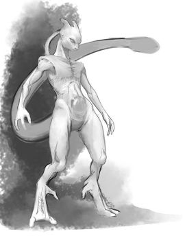 creepypasta mewtwo by hattonslayden