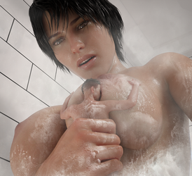 Shower Time by Flagg3D