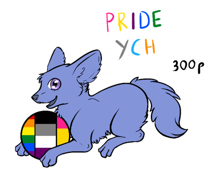 Cheap Pride Chibi YCH - Discount and RAFFLE by Forumsdackel