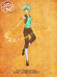 My Little Mages: Lyra by Didj