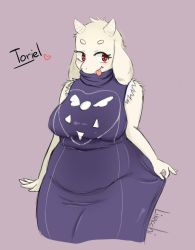 [FANART] where are your sleeves, Toriel? by likacchi