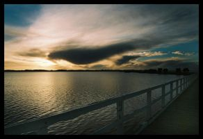 Australind jetty sunset 5 by wildplaces