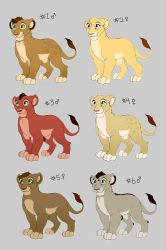 Cub Adoptables - Batch #3 - ALL SOLD by CaraLuca