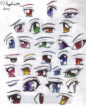 Eye collagues by KSapphire8989