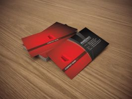 Red Tower Business card by Lemongraphic