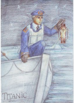 officer of Titanic by amur3314