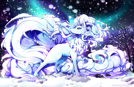 Alola Ninetales by Invidiata