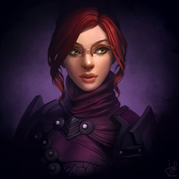 Guild Wars 2 Commission - Lucinellia Lyndra by jylgeartooth