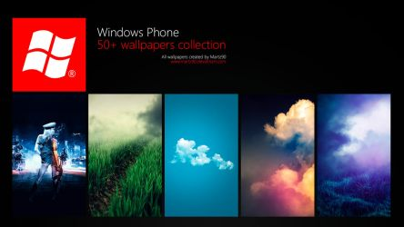 Windows Phone Wallpapers Collection by Martz90