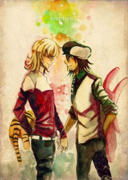 Tiger and Bunny by sdPink