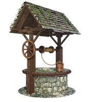 Medieval / Wishing / Water Well, PNG by fumar-porros