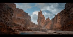 Silent Canyon by VincentiusMatthew