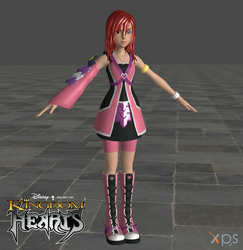 KH 2.8 Reimagined Kairi High Poly DL by todsen19