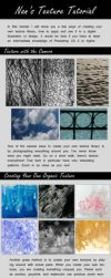 Creating and Utilizing Textures for Digital Art by lilsuika