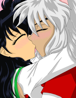 Inuyasha and Kagome your the one by IcyRoads
