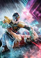 Judge Dredd by KardisArt