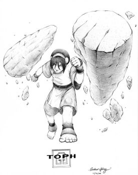 Toph by silentsketcher