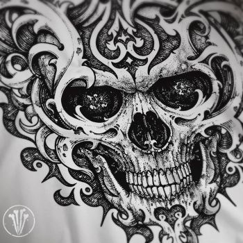 Skull Ornated by DeadInsideGraphics