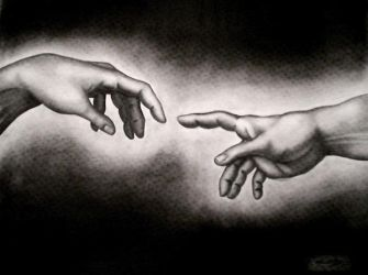 Creation of Man by thechikwiththepencil