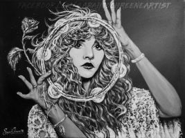 -Acrylic on Canvas- Stevie Nicks 'GYPSY' by dwightyoakamfan