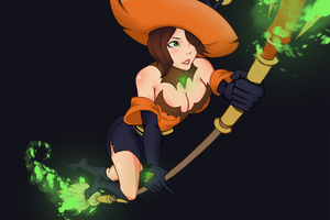 Bewitching Evie by aulaz