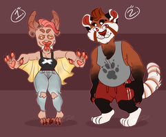 PRICE LOWERED Anthro Adopts! CLOSED by Loxiv