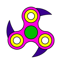 Dagger Fidget Spinner by MidNightFlyer53