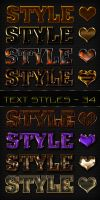 Text styles - 34 by DiZa-74