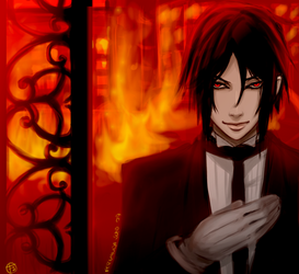 Hell's Butler by punkypeggy