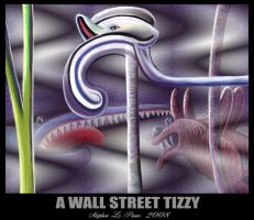 A Wall Street Tizzy Poster by StephenL