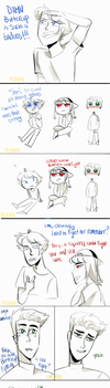 Great Fighting- ppg comic by yosuehere