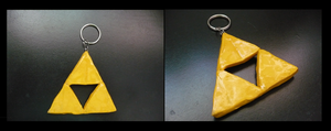 Triforce Keychain by sammers94