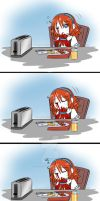 Lily VS Toaster? by NaughtyKittyDV-1992