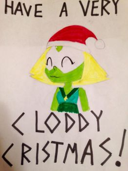 HAVE A VERY CLODDY CHRISTMAS!  by GloomySpaceChild