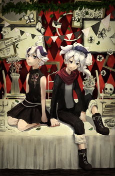 Playlist: Vocaloid Zine by Ekkoberry