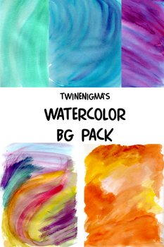 Watercolor BG Pack by TwinEnigma