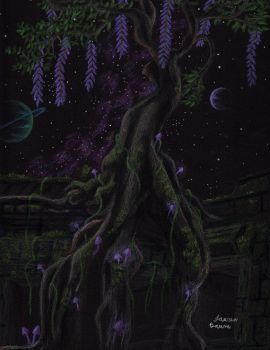 Series Vibrant Nights: 9 Jungle Temple by AuthenticBeauty1