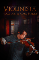 Violinista | Wattpad cover. by LoeBiebs