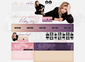 free layout ft. Chloe Moretz by mmmystery
