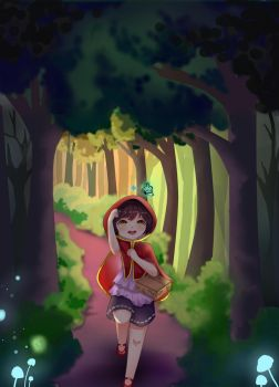 Little red riding hood by SeraYune