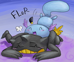 Banette Pillow with a Flop by CrazyIguana